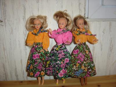trio de tressy