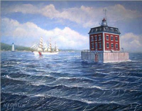 Haunted Lighthouses New London Ledge Lighthouse Blog