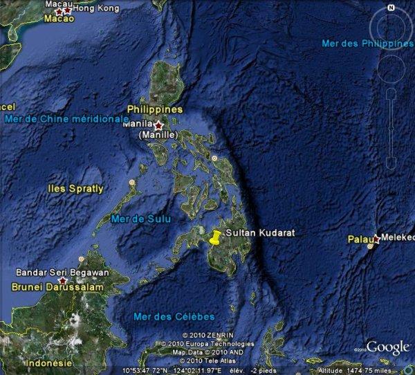 5 morts dans des inondations et glissements de terrain dans le Sud des Philippines.