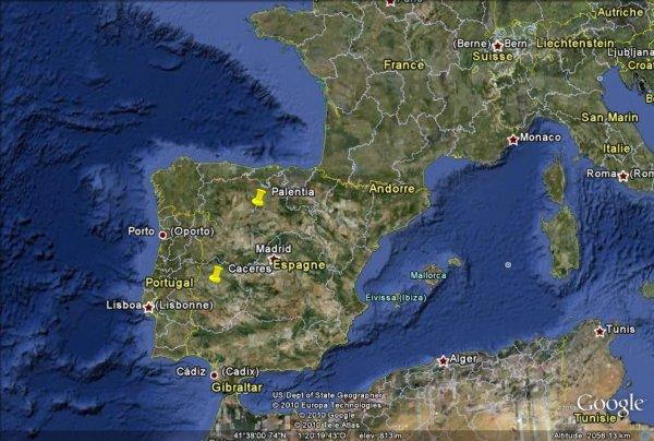 Intempéries et dégâts en Espagne.