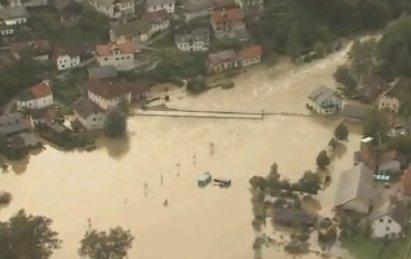 2 morts dans les inondations en Croatie et en Slovénie.