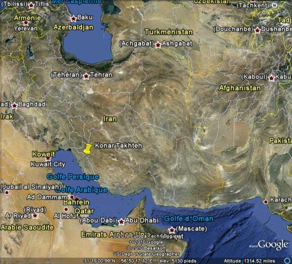 1 mort dans un séisme de magnitude 6,1 dans le Sud de l'Iran.