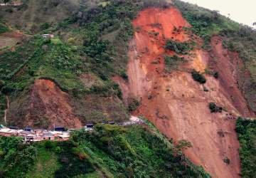 Un glissement de terrain fait plusieurs dizaines de morts au Nord-Ouest de la Colombie.