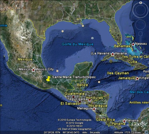 Plus de 500 morts dans un glissement de terrain au Mexique !