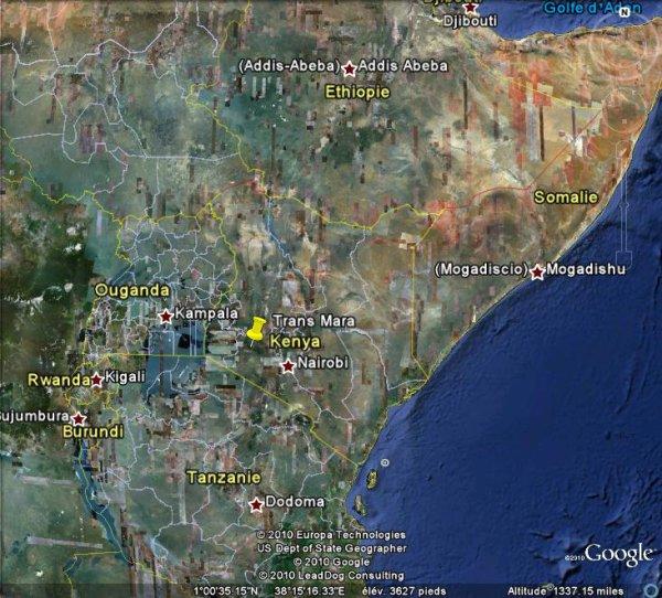 La foudre fait 35 blessés au Kenya.