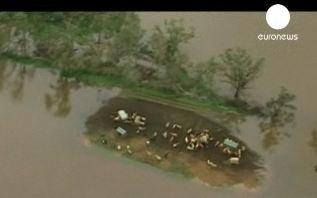 Inondations à l'Est de l'Allemagne.