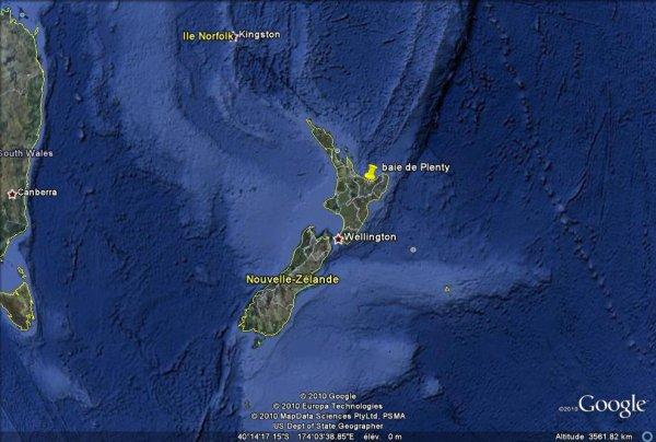 Séisme de magnitude 6,4 dans le Nord de la Nouvelle-Zélande.