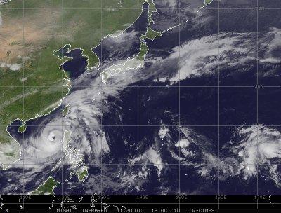 Le bilan du passage du super typhon Megi s'élève à 10 morts au Nord des Philippines !