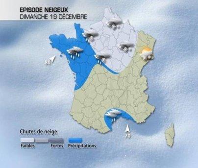 Pour ce week-end, fortement neigeux au Nord.
