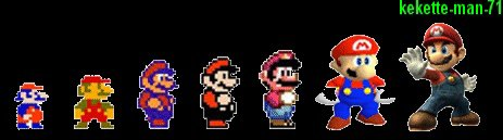 Mario of evolution !!