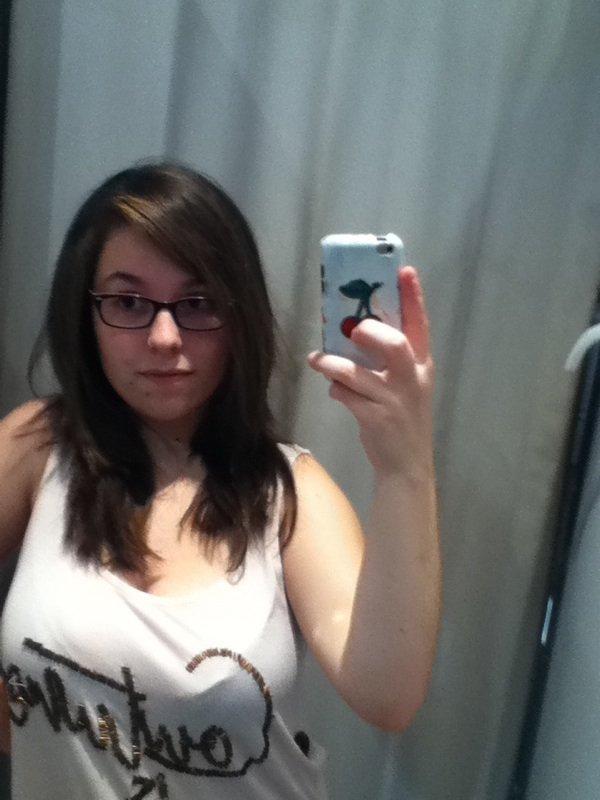 Ma nouvelle coupe de cheveux ' :)
