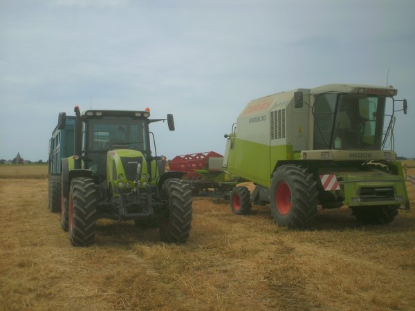 Claas medion 310 + arion 640