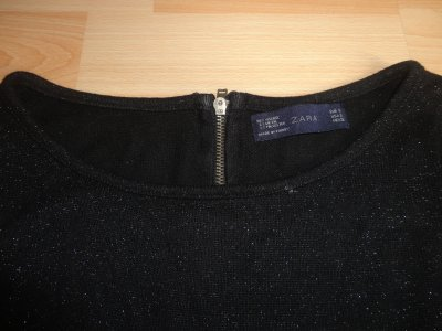 Robe pailletée zara t S 34 36