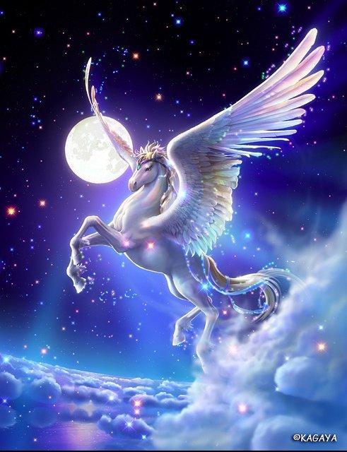 cheval avec des ailes