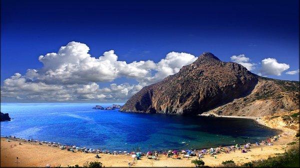 une des plage d'algerie