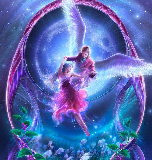 fée et ange