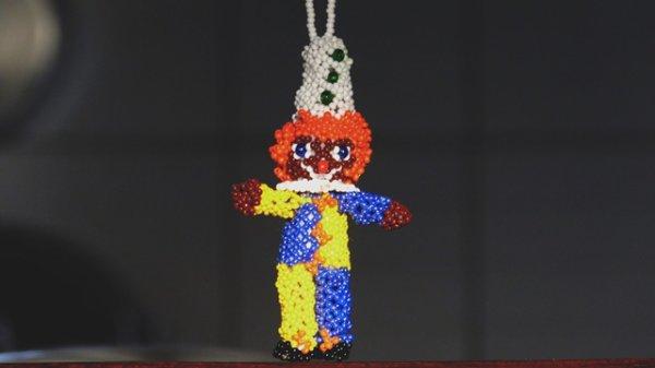 le clown fait sur un forum