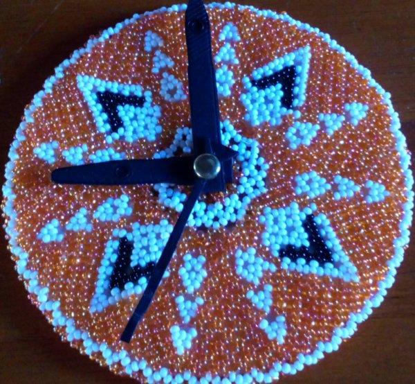 un horloge