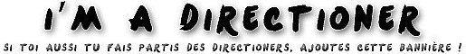 """"""" Tu respire One D, t'espère One D, tu rêve One D. Tu crois ne pas être normal, t'as tort t'es juste Directioner """""""