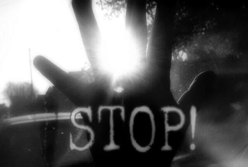 Je veux seulement que tu arrêtes.