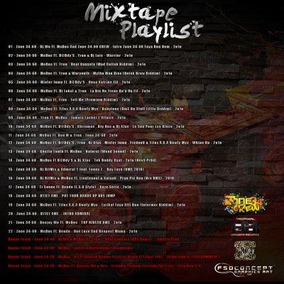 MIXTAPE ZONE  34-60  DISPO