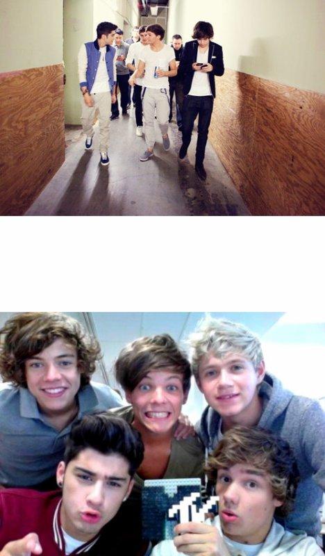 Harry - « Fermes ta bouche en mâchant ton chewing-gum. » Zayn * le crache sur Harry * - « Voilà ! »