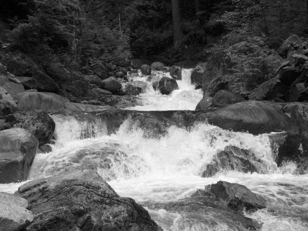 Cascade Falls In Mission British Columbia Canada