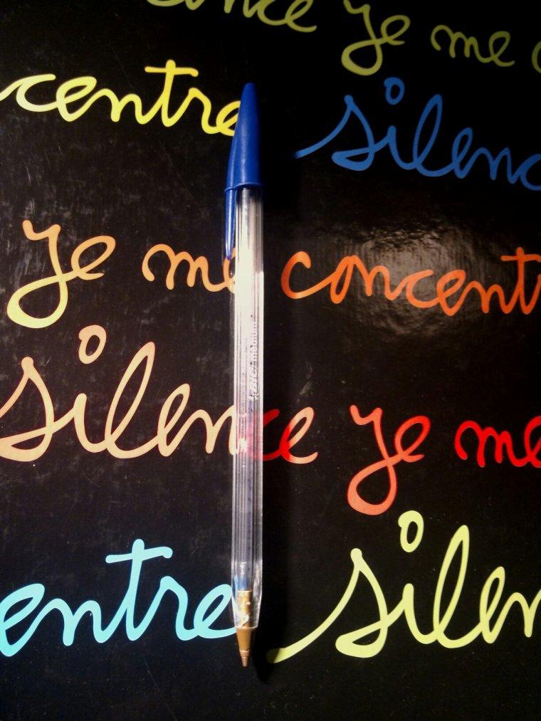Les stylos bics