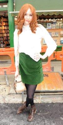 Karen Gillan en 2010