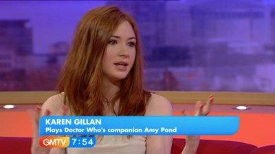 Karen Gillan Interview en 2010