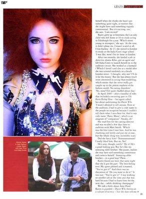 Karen Gillan Magazines en 2010