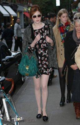 Karen Gillan en 2011