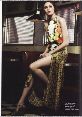 Karen Gillan Magazines en 2011