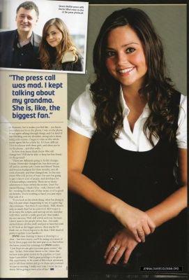 Jenna Coleman Magazines 2012
