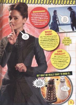 Jenna Coleman Magazines 2013