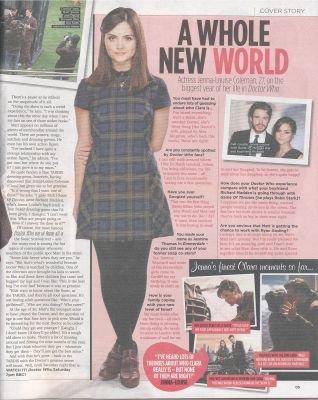 Jenna Coleman Magazines 2013 (Suite 2)