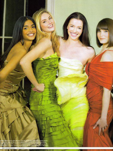 Talulah Riley Magazines en 2007