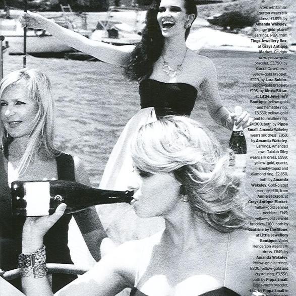 Talulah Riley Magazines en 2008
