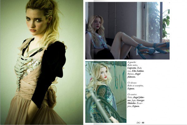 Talulah Riley Magazines en 2010