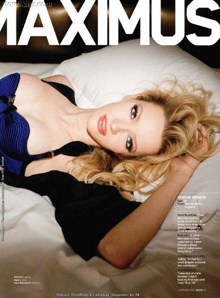 Talulah Riley Magazines en 2011
