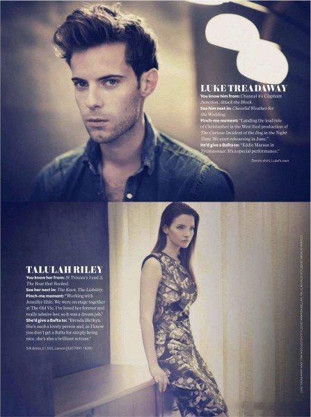 Talulah Riley Magazines en 2012