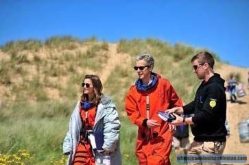"""Jenna Coleman sur le tournage de """"Doctor Who"""""""