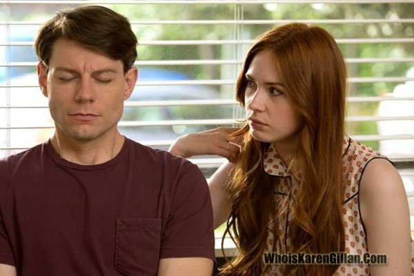 "Karen Gillan dans ""The List"" (2014)"