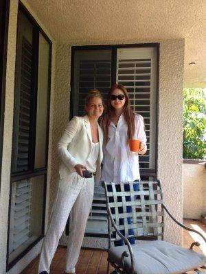 """Karen Gillan sur le tournage de """"The List"""""""
