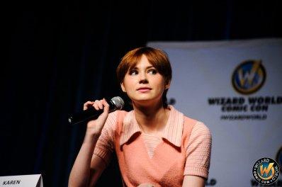 "Karen Gillan au ""WIZARD WORLD PHILADELPHIA COMIC CON 2014 - Jour 3"" le 21 juin"