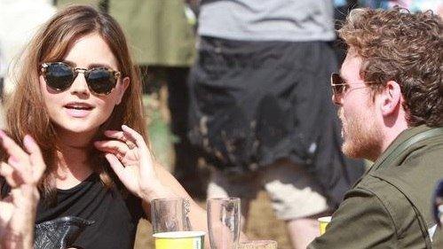 Jenna Coleman au Festival de Glastonbury (Jour 2) le 28 juin