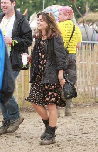 Jenna Coleman au Festival de Glastonbury (Jour 3) le 29 juin