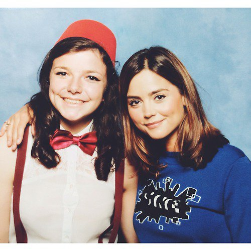 Jenna Coleman au London Film et Comic-Con le 12 juillet 2014