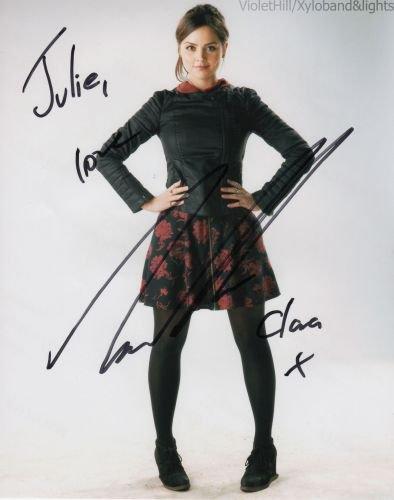 Jenna Coleman Nouvel Autographe (Fait au London Film et Comic Con le 12 juillet)