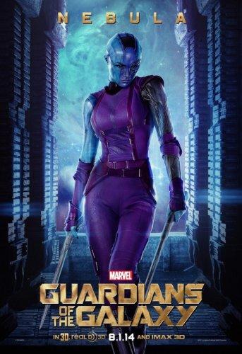 """Karen Gillan Nouvelle Affiche des """"Gardiens de la Galaxie"""""""